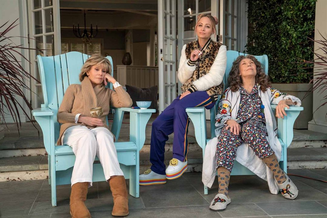 Photo Jane Fonda, Lily Tomlin, Nicole Richie