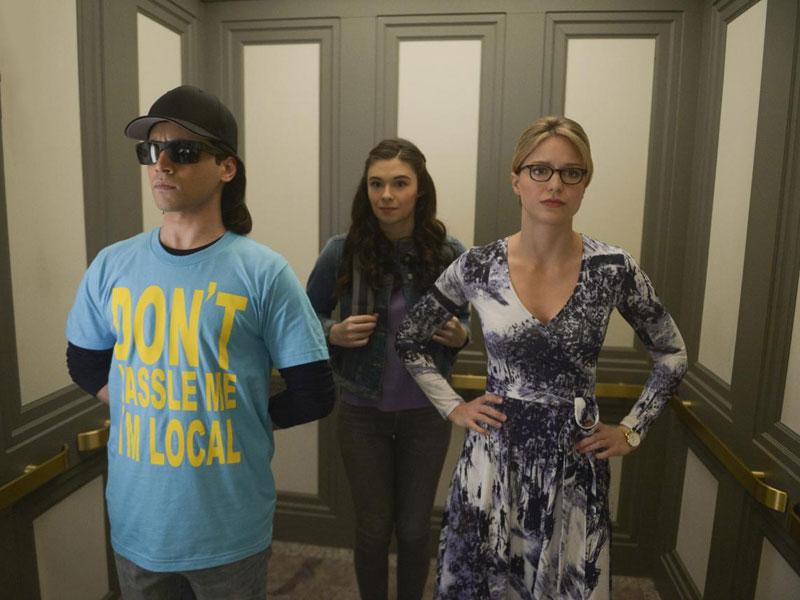 Photo Jesse Rath, Melissa Benoist, Nicole Maines