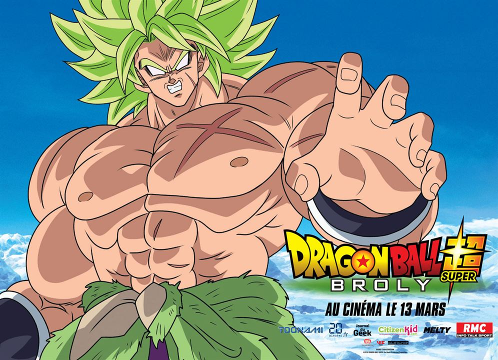 Dragon Ball Super: Broly : Affiche