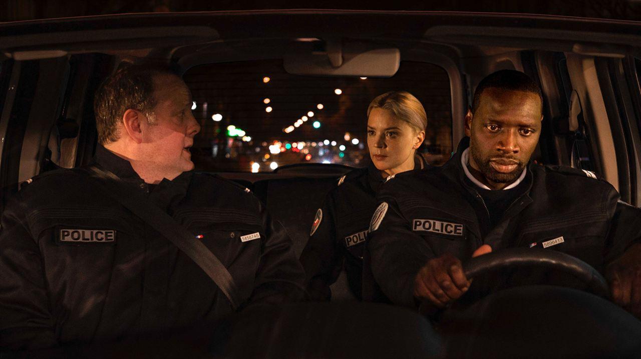 Police : Photo Grégory Gadebois, Omar Sy, Virginie Efira