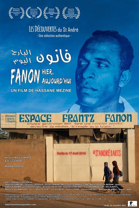 Fanon hier, aujourd'hui : Affiche