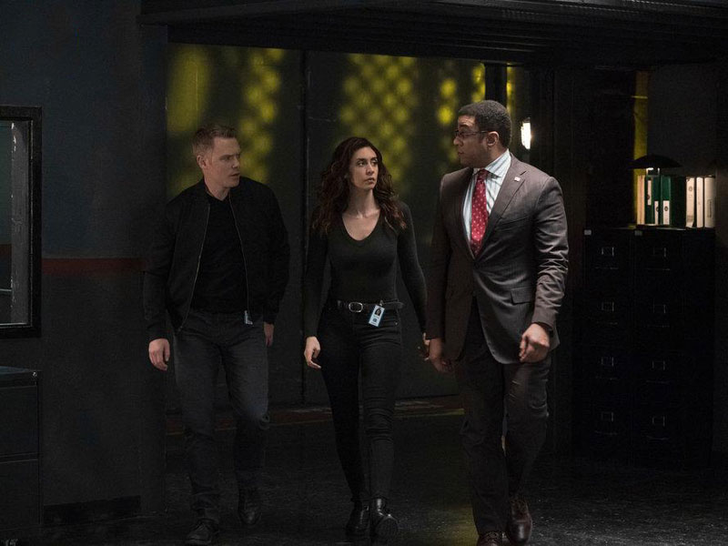 Photo Diego Klattenhoff, Harry Lennix, Mozhan Marnò