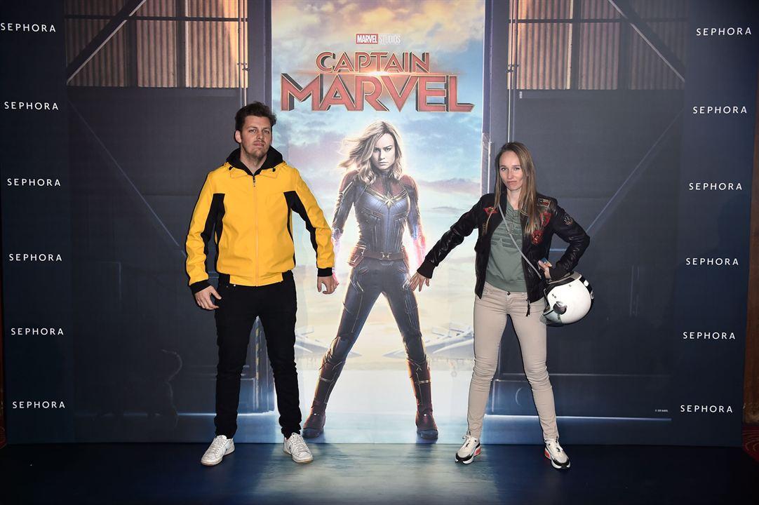 Captain Marvel : Photo promotionnelle Pierre Croce