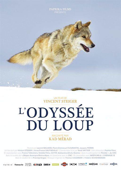 L'Odyssée du loup : Affiche