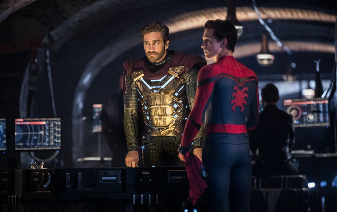 Spider-Man: Far From Home : Photo Jake Gyllenhaal, Tom Holland