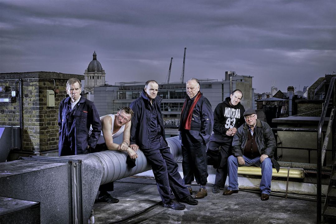 Photo Alex Norton, Brían F. O'Byrne, David Hayman, Geoff Bell, Kenneth Cranham