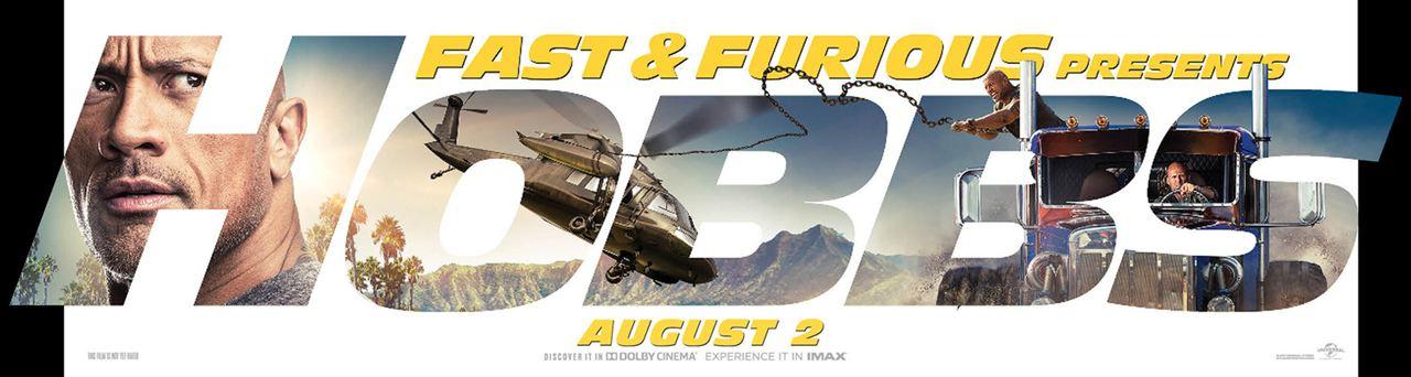 Fast & Furious : Hobbs & Shaw : Affiche