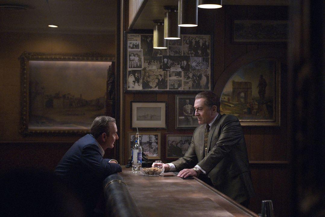 The Irishman : Photo Joe Pesci, Robert De Niro