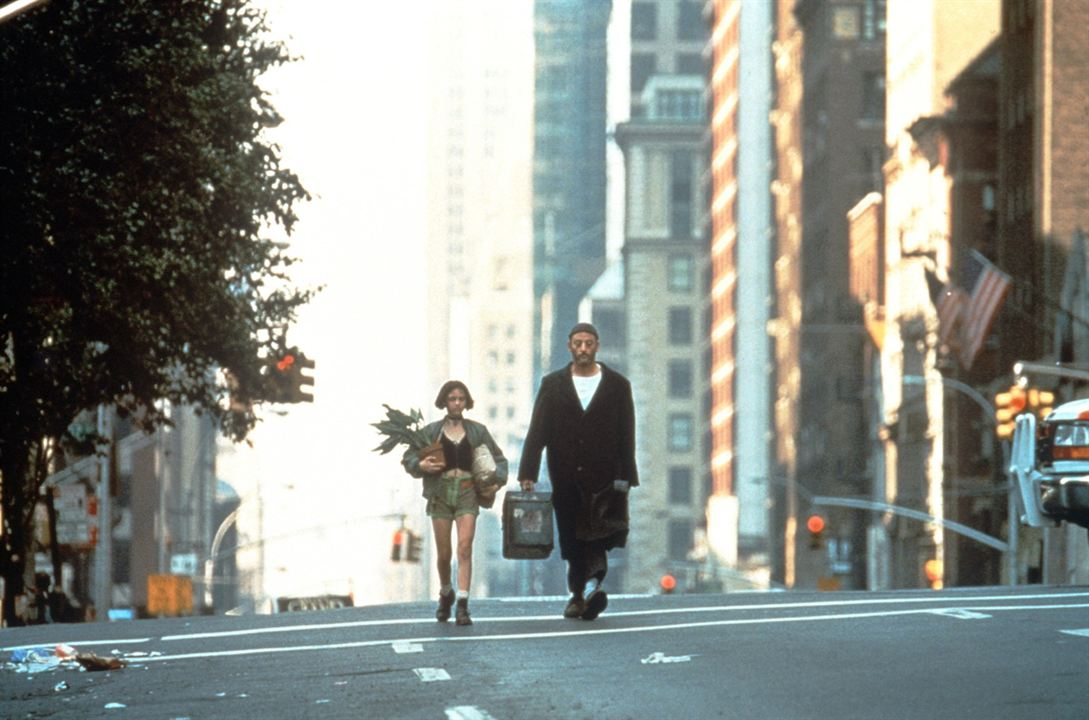 Léon : Photo Jean Reno, Natalie Portman