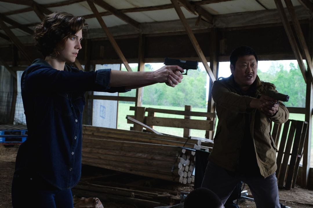 Gemini Man : Photo Benedict Wong, Mary Elizabeth Winstead