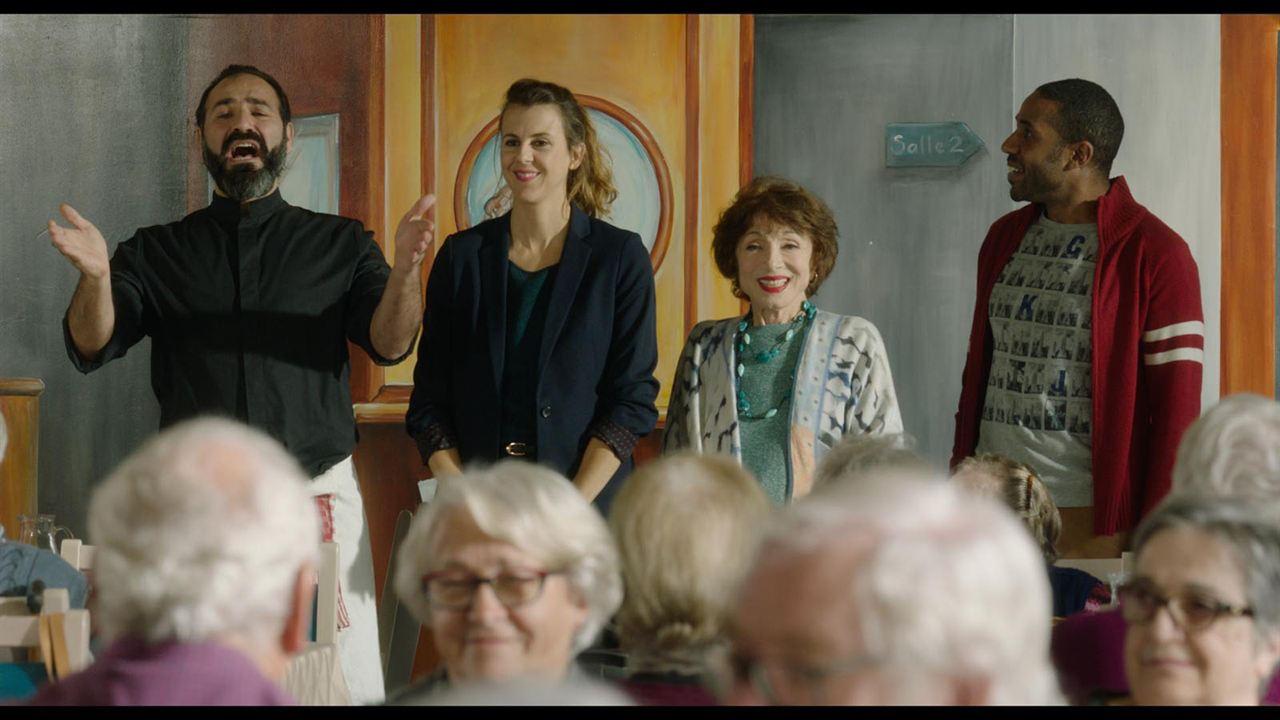 Joyeuse retraite ! : Photo Judith Magre, Loup-Denis Elion, Nicole Ferroni