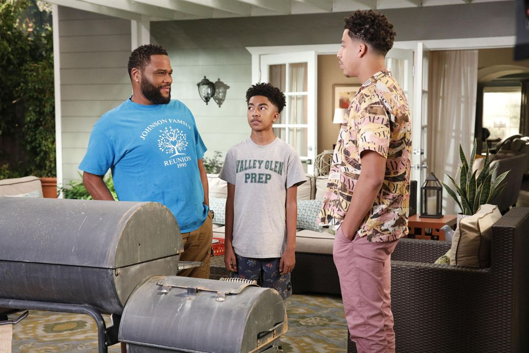 Photo Anthony Anderson, Marcus Scribner, Miles Brown