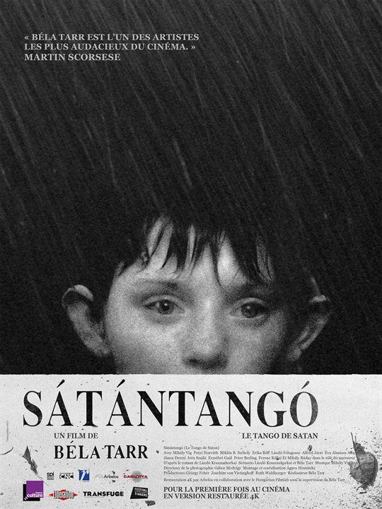 Sátántangó (Le Tango de Satan) - Partie 2 : Affiche