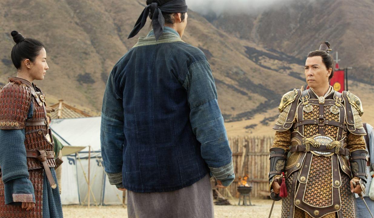 Mulan : Photo Donnie Yen, Yifei Liu