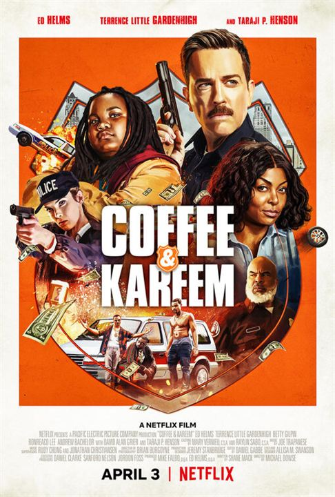 Coffee & Kareem : Affiche