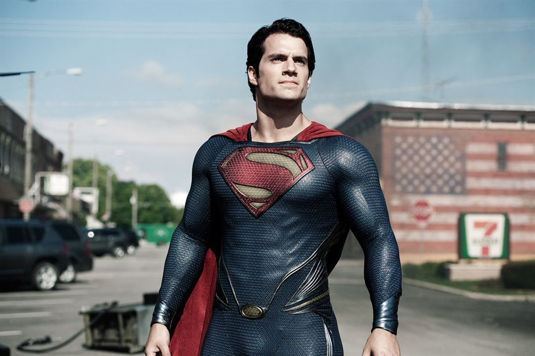 Man of Steel : Photo Henry Cavill