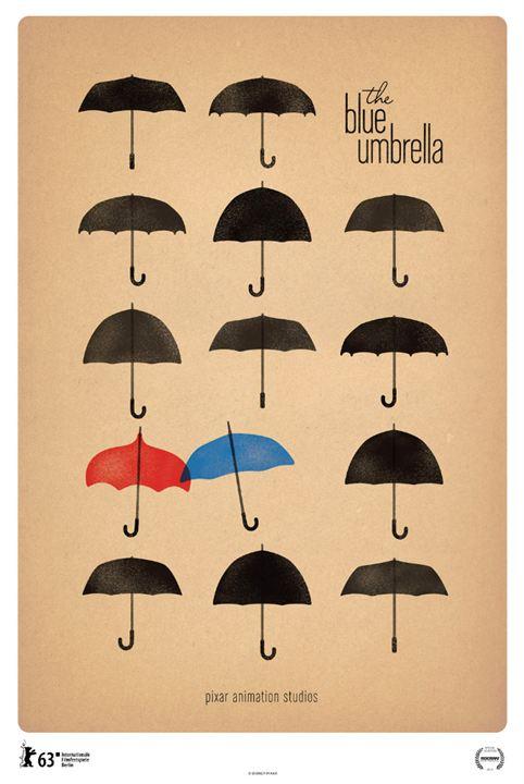Le Parapluie bleu : Affiche