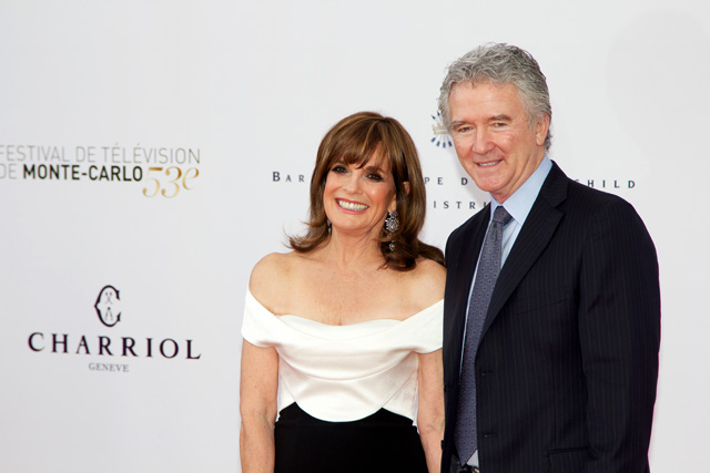 Photo Linda Gray, Patrick Duffy