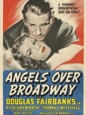 L'Ange de Broadway : Affiche