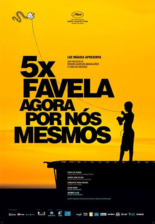 5x Favela, Agora por Nós Mesmos : Affiche