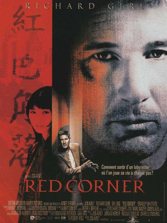 Red Corner : Affiche