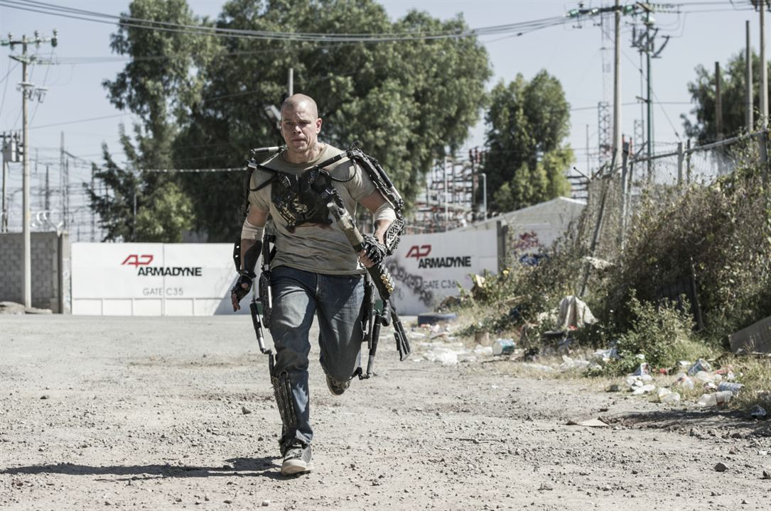 Elysium : Photo Matt Damon