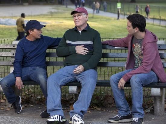 Photo Charles Grodin, Conor Romero, Michael J. Fox