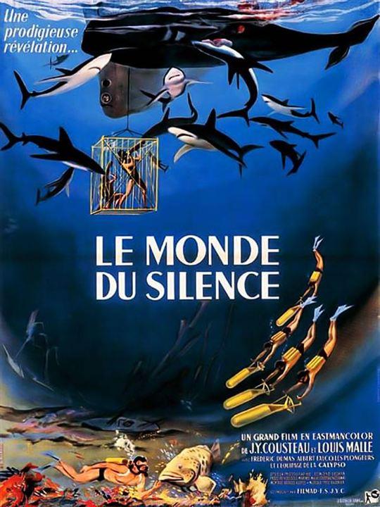 Le Monde du silence : Affiche