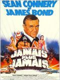 James Bond 04 - Jamais plus jamais poster