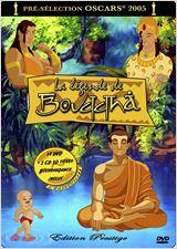 La légende de Bouddha affiche