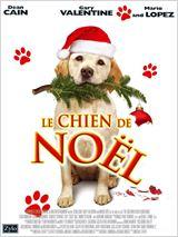 Le chien qui a sauvé Noël affiche