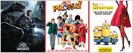 Box office été 2015: le carton Jurassic World, Les Profs 2 au top et Universal maître du monde