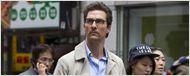 Matthew McConaughey tout habillé de noir sur le tournage de La Tour Sombre