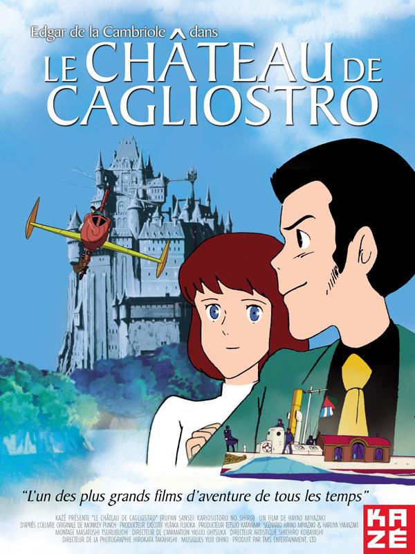 Affiche du film présenté : Le Chateau de Cagliostro