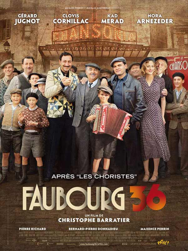 Download Faubourg 36 FRENCH Poster