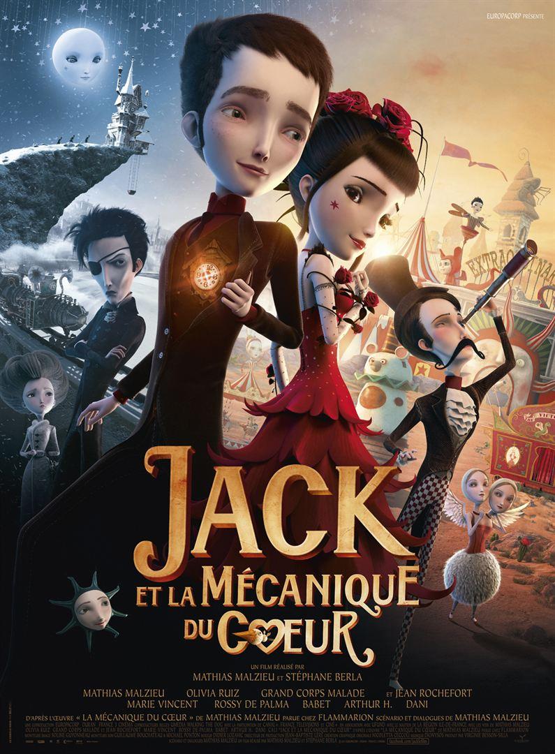 Jack et la mécanique du cœur en streaming uptobox