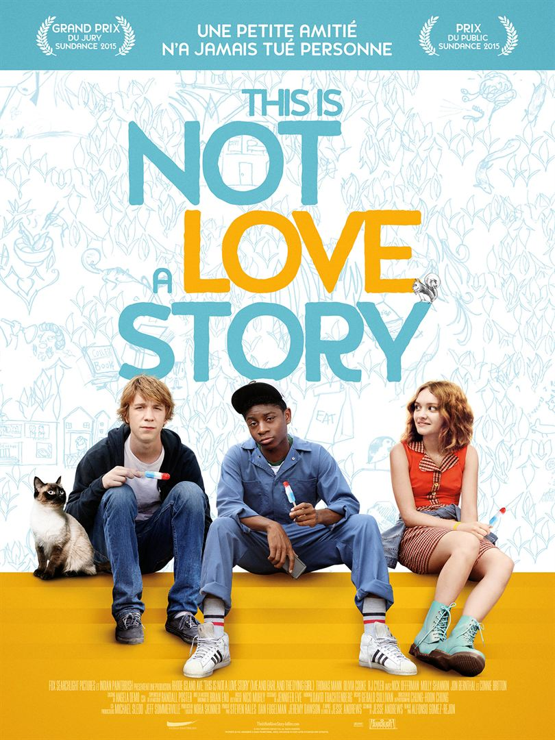 This is not a love story affiche