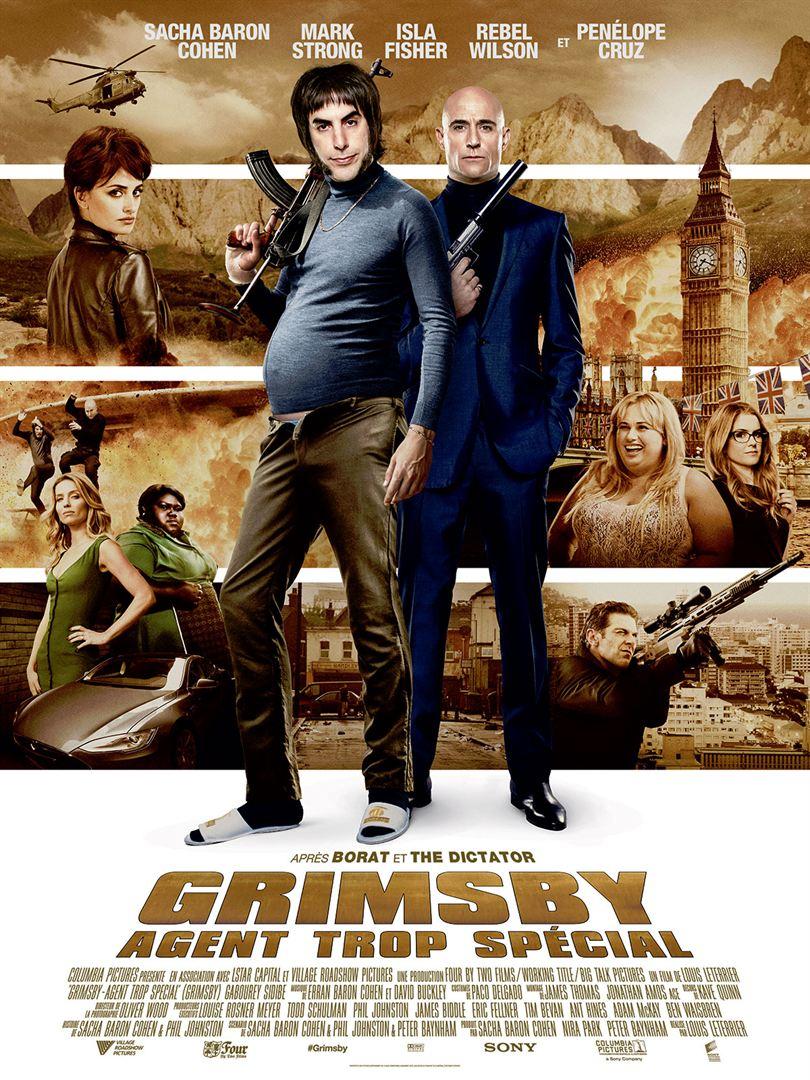 Grimsby – Agent trop spécial en streaming