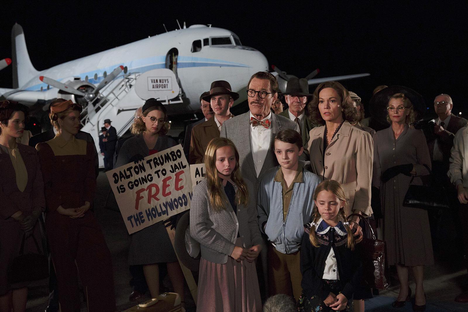 Dalton Trumbo - Bryan Cranston, Diane Lane, Elle Fanning