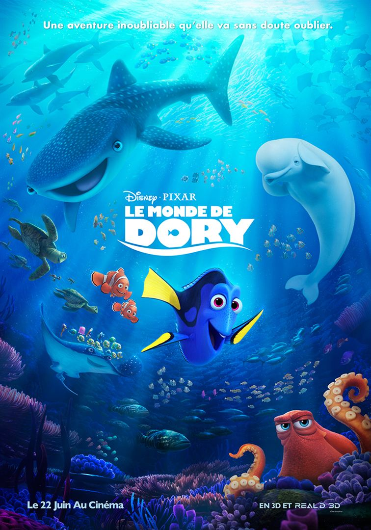 Le Monde de Dory en streaming uptobox