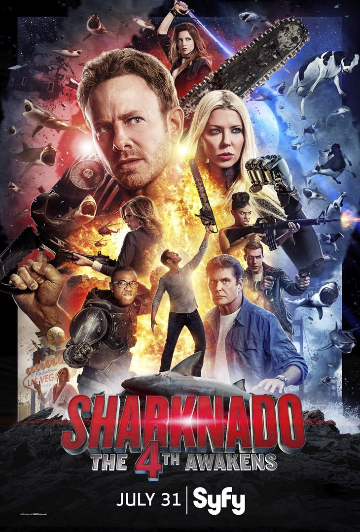 Sharknado: The 4th Awakens FRENCH HDTV