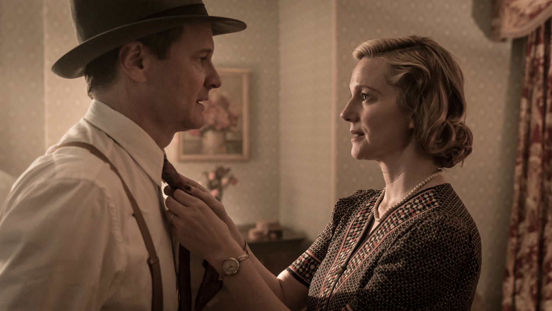 Genius - Colin Firth et Laura Linney