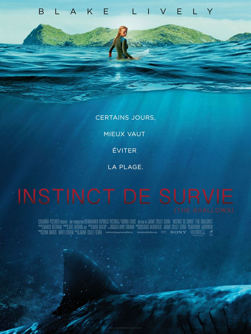 Instinct de survie – The Shallows en streaming