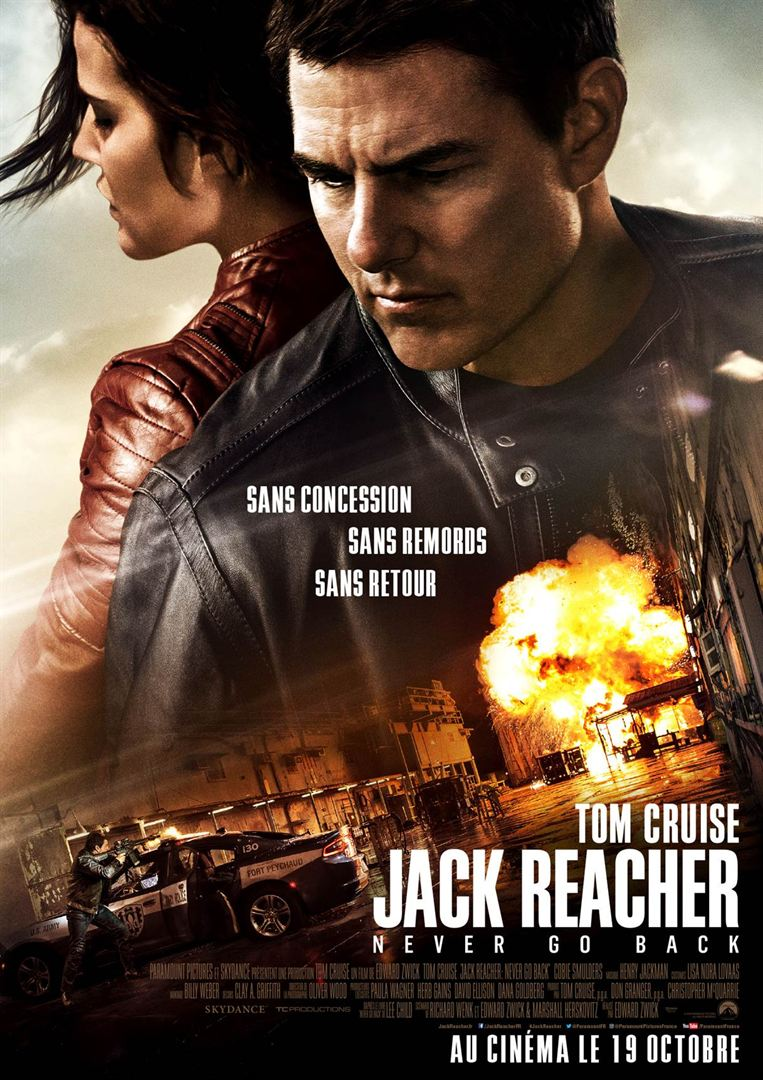 Jack Reacher : Never Go Back FRENCH BDRIP 2016