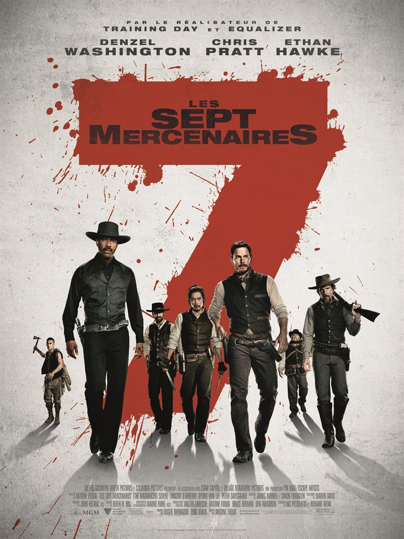 Les 7 Mercenaires FRENCH BDRIP 2016