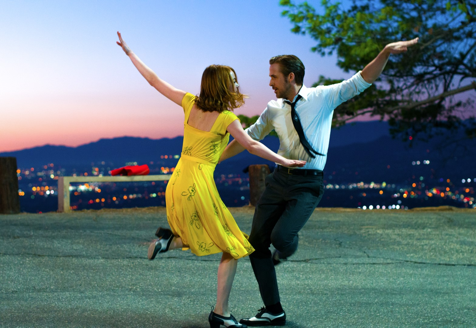 screen La La Land