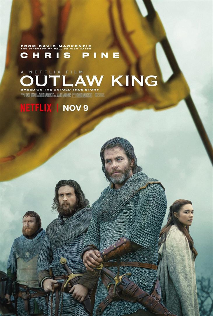 Outlaw king affiche