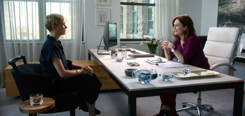 Michelle Williams et Julianne Moore dans After the wedding