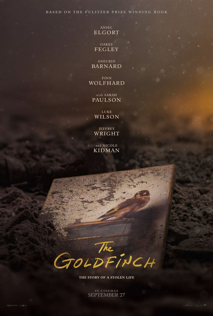 affiche The goldfinch