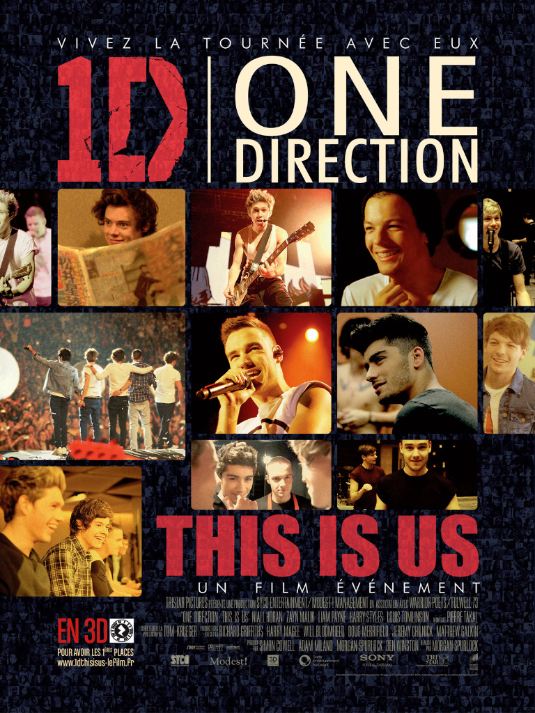 ONE DIRECTION LE FILM en streaming